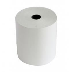 Bobine de papier thermique 80 x 80 x 12 - 55g/M2 - 75m