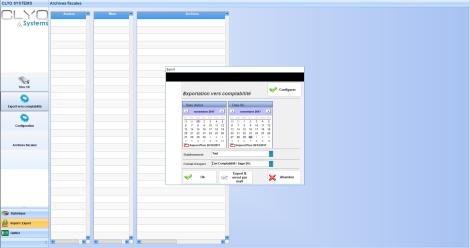 Export des ventes vers un logiciel de comptabilité
